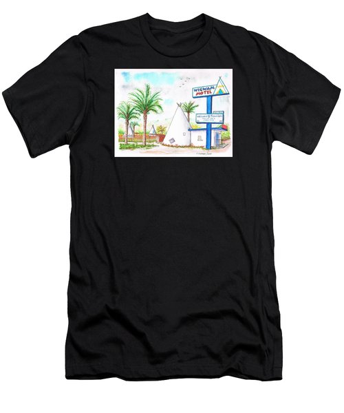 Wigman Motel, Route 66, San Bernardino, Ca Men's T-Shirt (Athletic Fit)