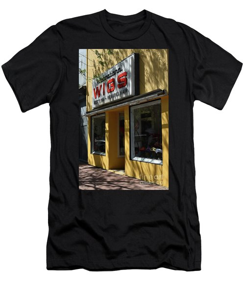 Men's T-Shirt (Slim Fit) featuring the photograph Wigs by Skip Willits