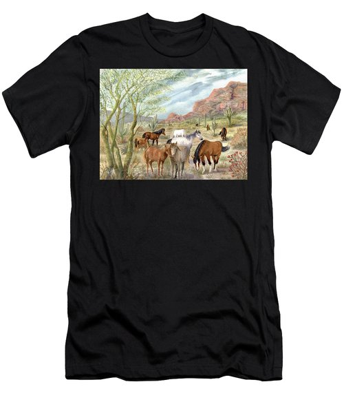 Wild And Free Forever Men's T-Shirt (Athletic Fit)