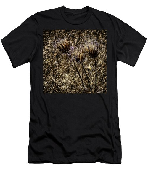Wild Artichoke Men's T-Shirt (Slim Fit) by Edgar Laureano