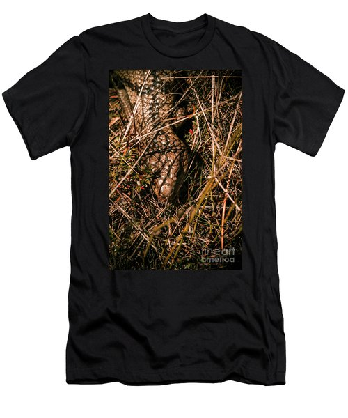 Wild Australian Blue Tongue Lizard Men's T-Shirt (Athletic Fit)