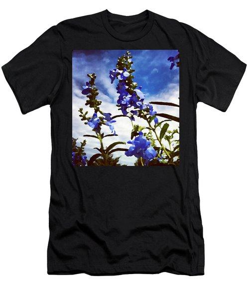 Wild Blue Sage  Men's T-Shirt (Athletic Fit)