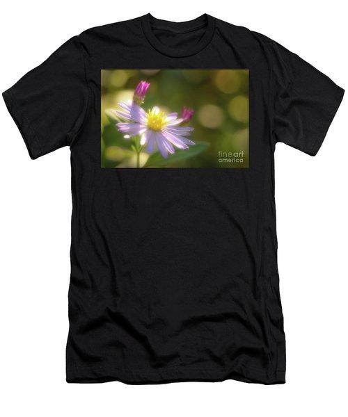 Wild Chrysanthemum Men's T-Shirt (Athletic Fit)