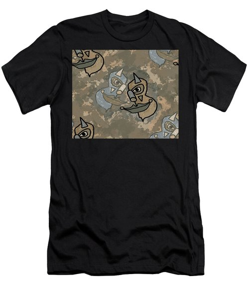 Wild Clown Men's T-Shirt (Athletic Fit)