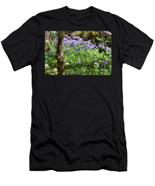 Wild Flowers On A Hike Men's T-Shirt (Athletic Fit)