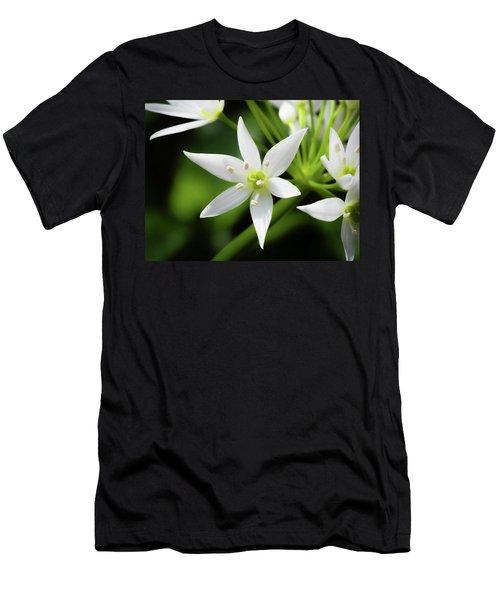 Wild Garlic Flower Men's T-Shirt (Athletic Fit)