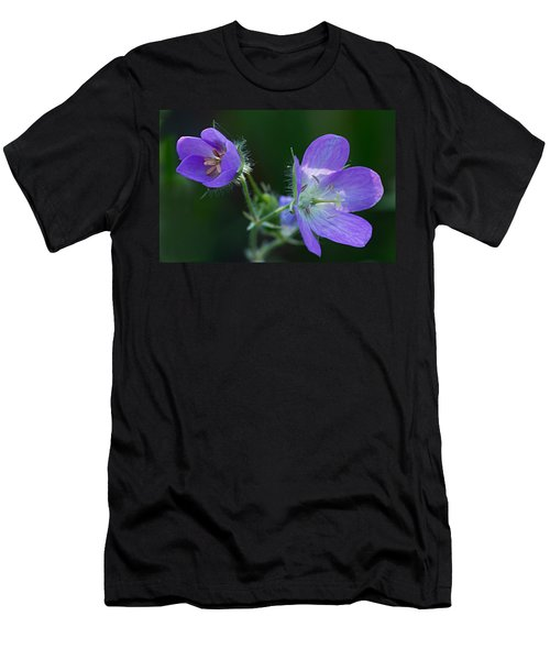Wild Geraniums Men's T-Shirt (Athletic Fit)