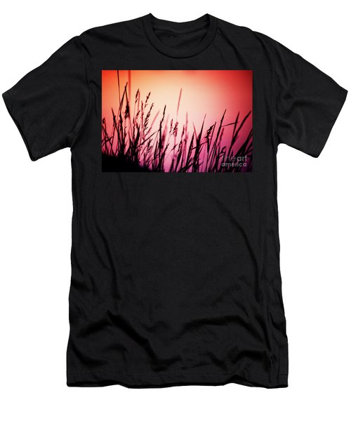 Men's T-Shirt (Athletic Fit) featuring the photograph Wild Grasses by Scott Kemper