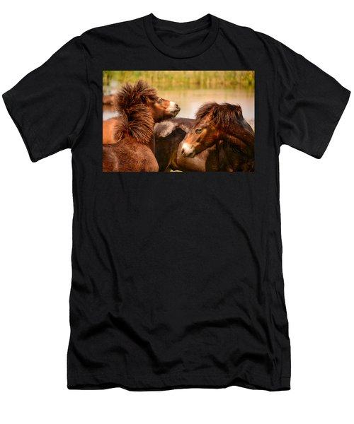 Wild Horses 5 Men's T-Shirt (Athletic Fit)