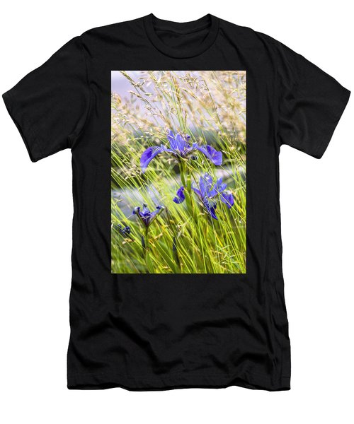 Wild Irises Men's T-Shirt (Athletic Fit)