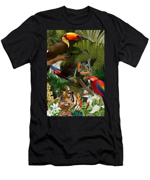 Wild Men's T-Shirt (Athletic Fit)