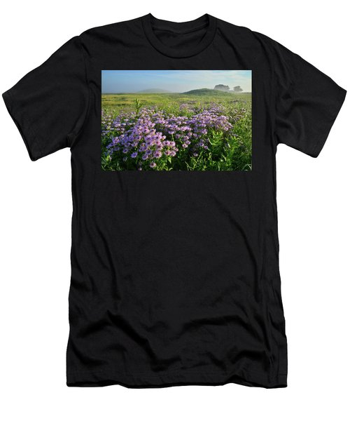 Wild Mints Galore In Glacial Park Men's T-Shirt (Athletic Fit)