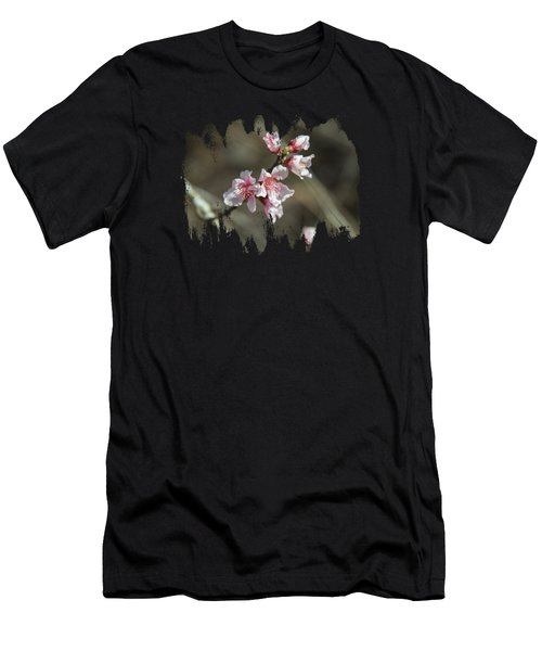 Wild Mountain Blossoms Men's T-Shirt (Athletic Fit)