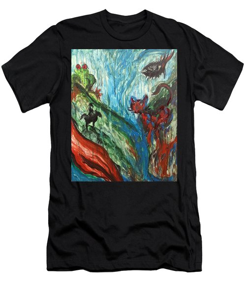 Wild Periscope Collaboration Men's T-Shirt (Athletic Fit)