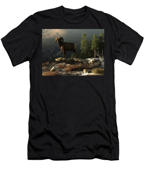 Wild Ram Men's T-Shirt (Athletic Fit)