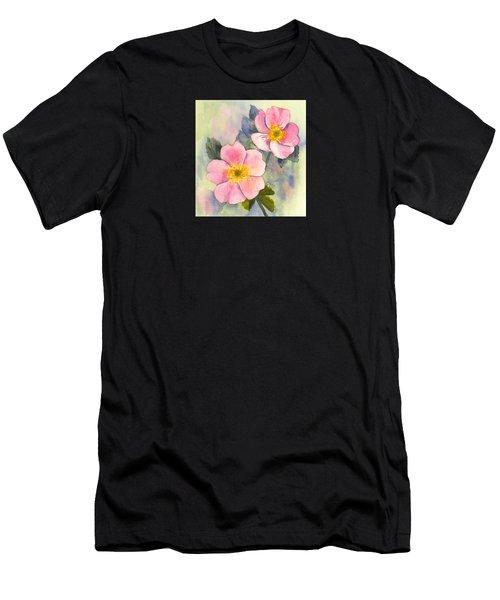 Wild Roses - Glacier Men's T-Shirt (Athletic Fit)