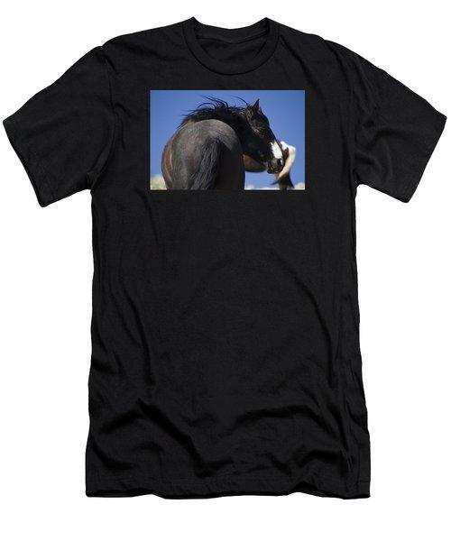 Wild Stallion  Men's T-Shirt (Athletic Fit)