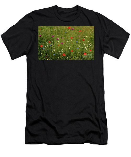 Wild Summer Meadow Men's T-Shirt (Athletic Fit)