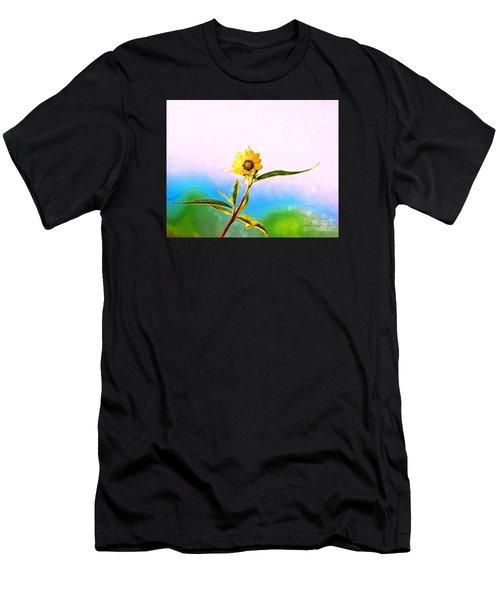 Wild Sunflower Men's T-Shirt (Athletic Fit)