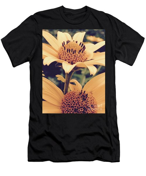 Wild Sunflowers Men's T-Shirt (Athletic Fit)