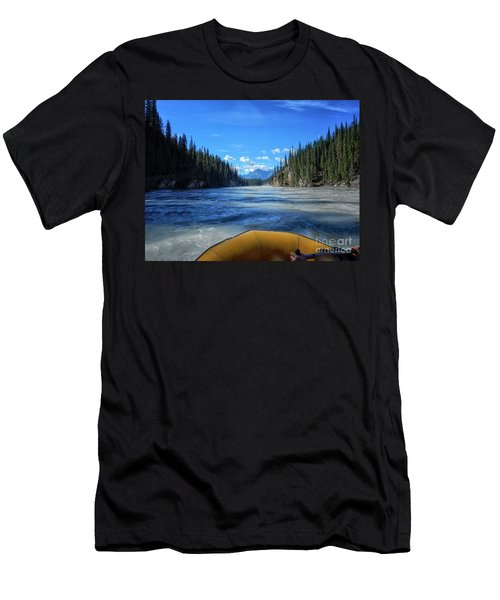 Wild Water Rafting Men's T-Shirt (Athletic Fit)