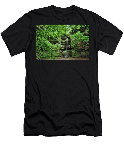 Wildcat Canyon Falls Men's T-Shirt (Athletic Fit)