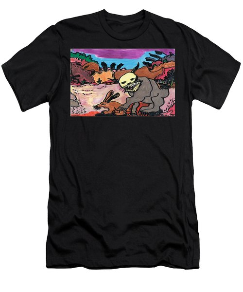 Wildcat Men's T-Shirt (Slim Fit) by Don Koester