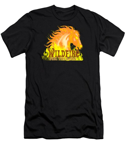 Wildfire - Feel The Burn Men's T-Shirt (Athletic Fit)