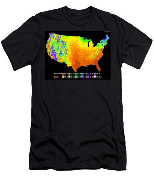 Wildfire Frequency Men's T-Shirt (Athletic Fit)