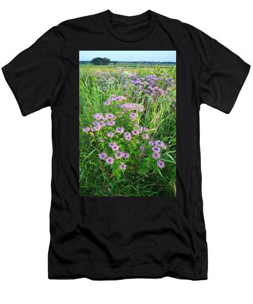 Wildflower Bouquet In Glacial Park Men's T-Shirt (Athletic Fit)