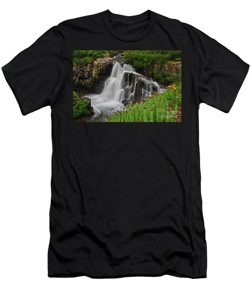 Wildflower Falls Men's T-Shirt (Athletic Fit)