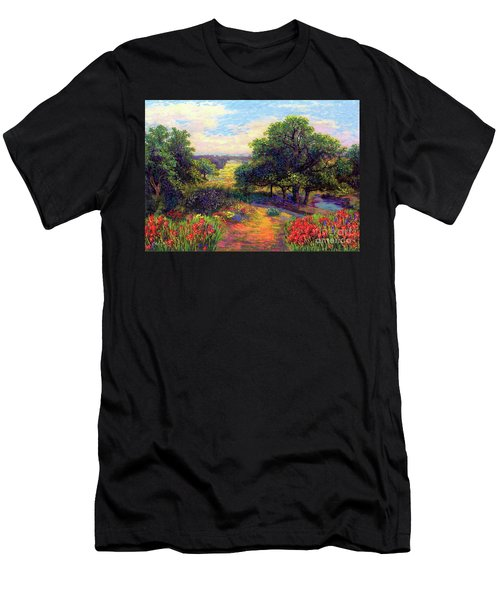 Wildflower Meadows Of Color And Joy Men's T-Shirt (Athletic Fit)