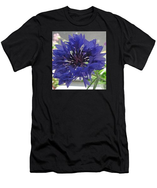 Wildflower Purple Men's T-Shirt (Athletic Fit)