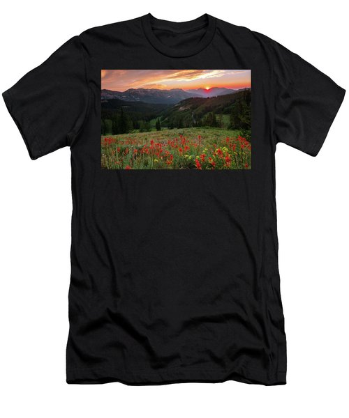 Wildflowers At Gaurdsmans Pass Men's T-Shirt (Athletic Fit)