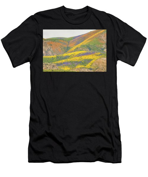 Wildflowers At The Summit Men's T-Shirt (Athletic Fit)