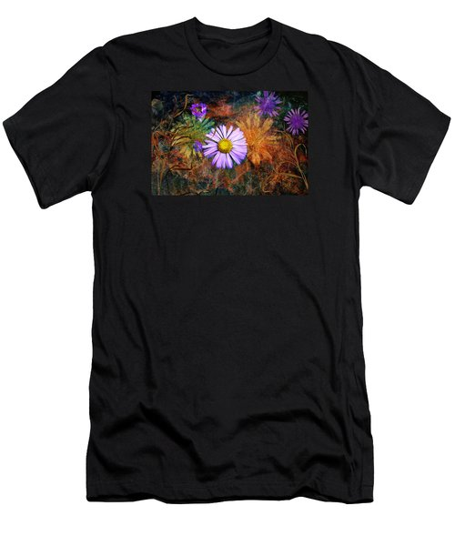 Wildflowers Men's T-Shirt (Slim Fit) by Ed Hall