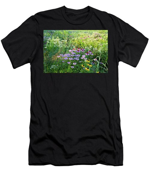 Wildflowers In Moraine Hills State Park Men's T-Shirt (Athletic Fit)