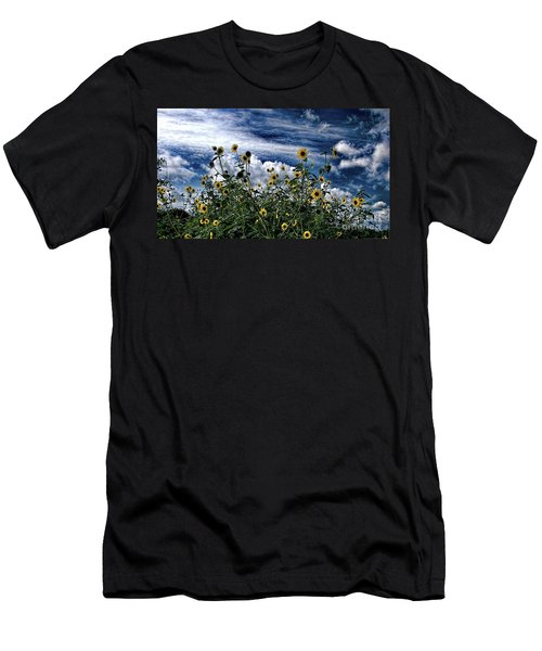 Wildflowers On The Brazos Men's T-Shirt (Athletic Fit)