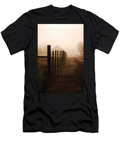 Will They Be Mist Men's T-Shirt (Athletic Fit)