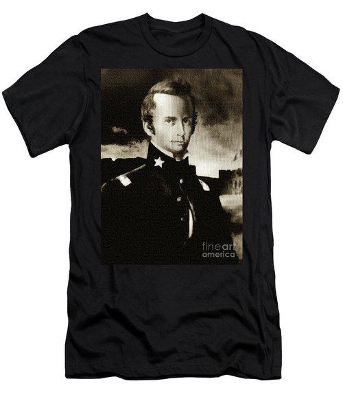 William B Travis - The Alamo Men's T-Shirt (Athletic Fit)