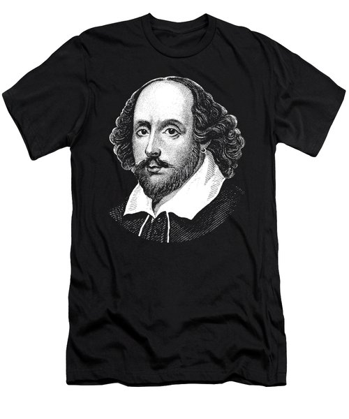 William Shakespeare - The Bard  Men's T-Shirt (Athletic Fit)