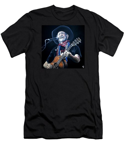 Willie Nelson 2 Men's T-Shirt (Athletic Fit)