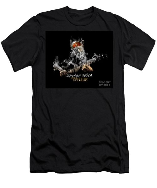 Willie Smoken' Men's T-Shirt (Athletic Fit)