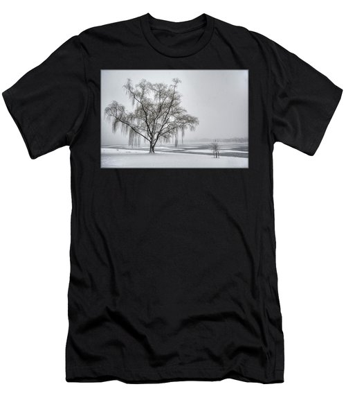 Willow In Blizzard Men's T-Shirt (Athletic Fit)