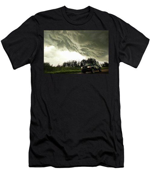Men's T-Shirt (Slim Fit) featuring the photograph Willowbrook Beast by Ryan Crouse