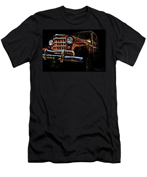 Willy's Station Wagon Men's T-Shirt (Athletic Fit)