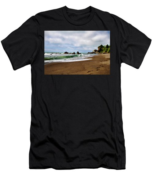 Wilson Creek Beach Men's T-Shirt (Athletic Fit)