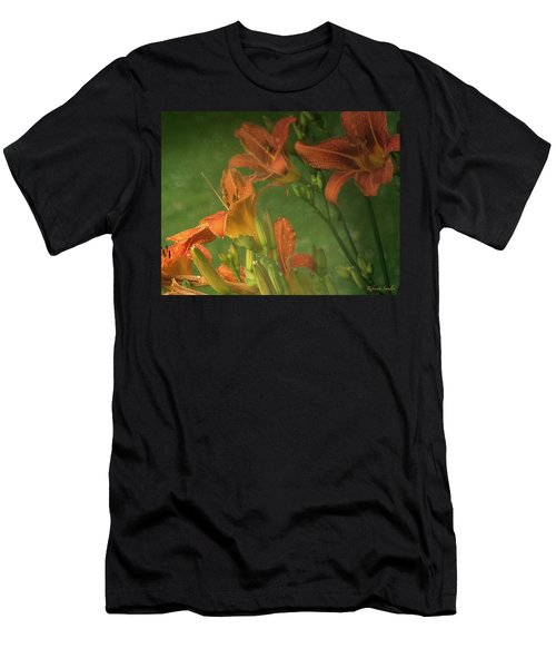 Wind Blown And Rain Spattered Men's T-Shirt (Athletic Fit)