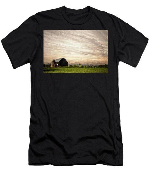 Wind Farm Men's T-Shirt (Athletic Fit)