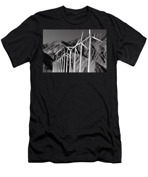 Wind Generators Men's T-Shirt (Athletic Fit)